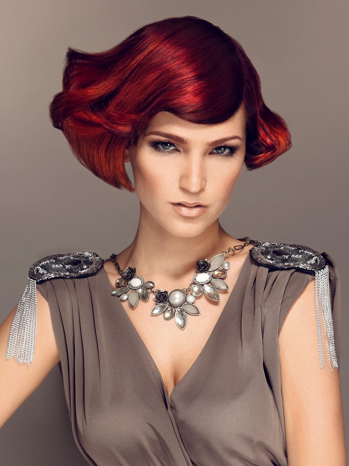 HAIR INK.: SHORT RED HAIR
