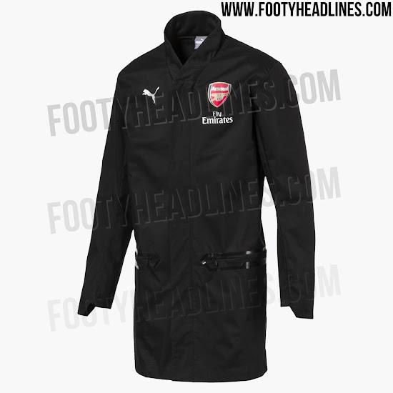 436978367 All-New Puma Arsenal Arsene Wenger 18-19 Full-Zip Jacket Leaked ...