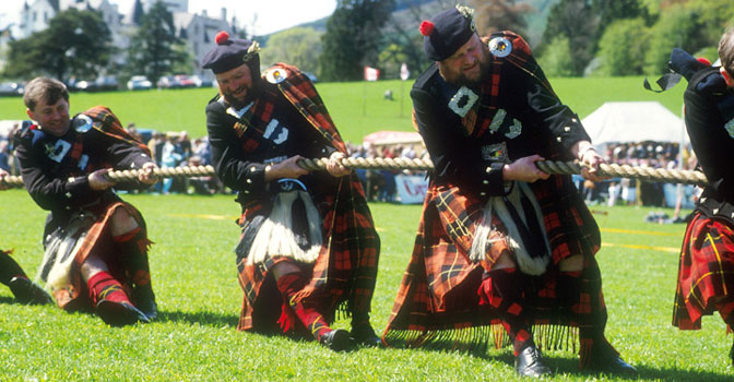 Deck The Holiday S Highland Games From Scotland