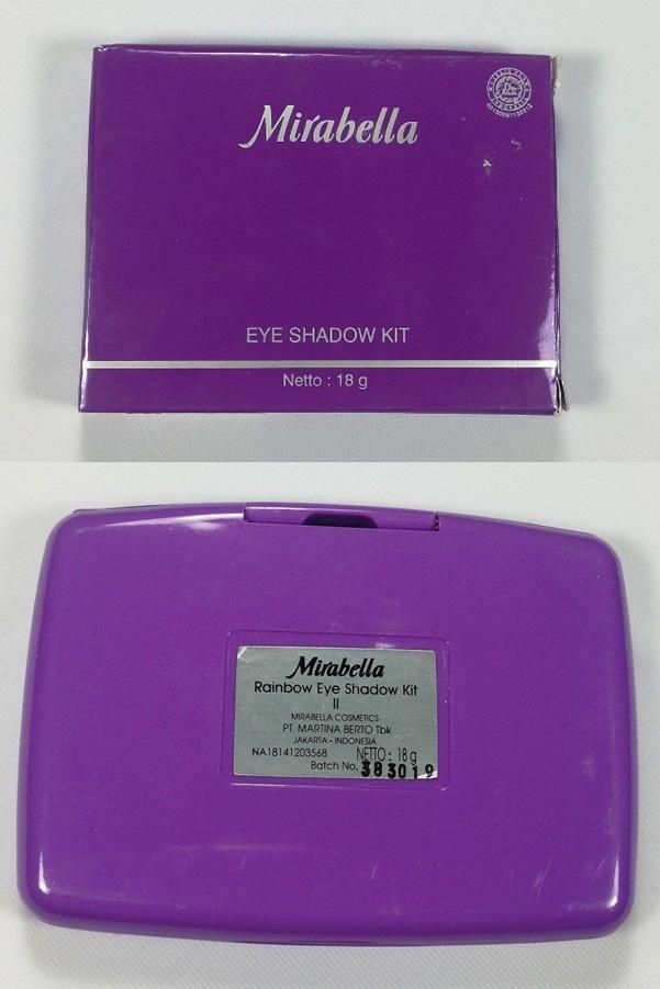 Packaging Mirabella Eye Shadow
