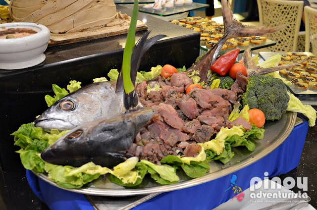 Fresh Seafood at Sea Breeze Restaurant Boracay