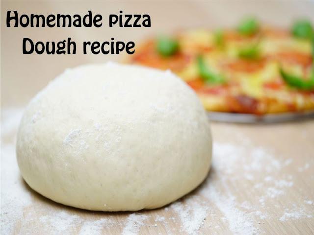 Σπιτική ζύμη για πίτσα