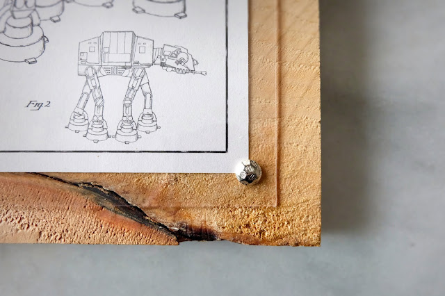 star wars printables framing wood panel furniture tacks