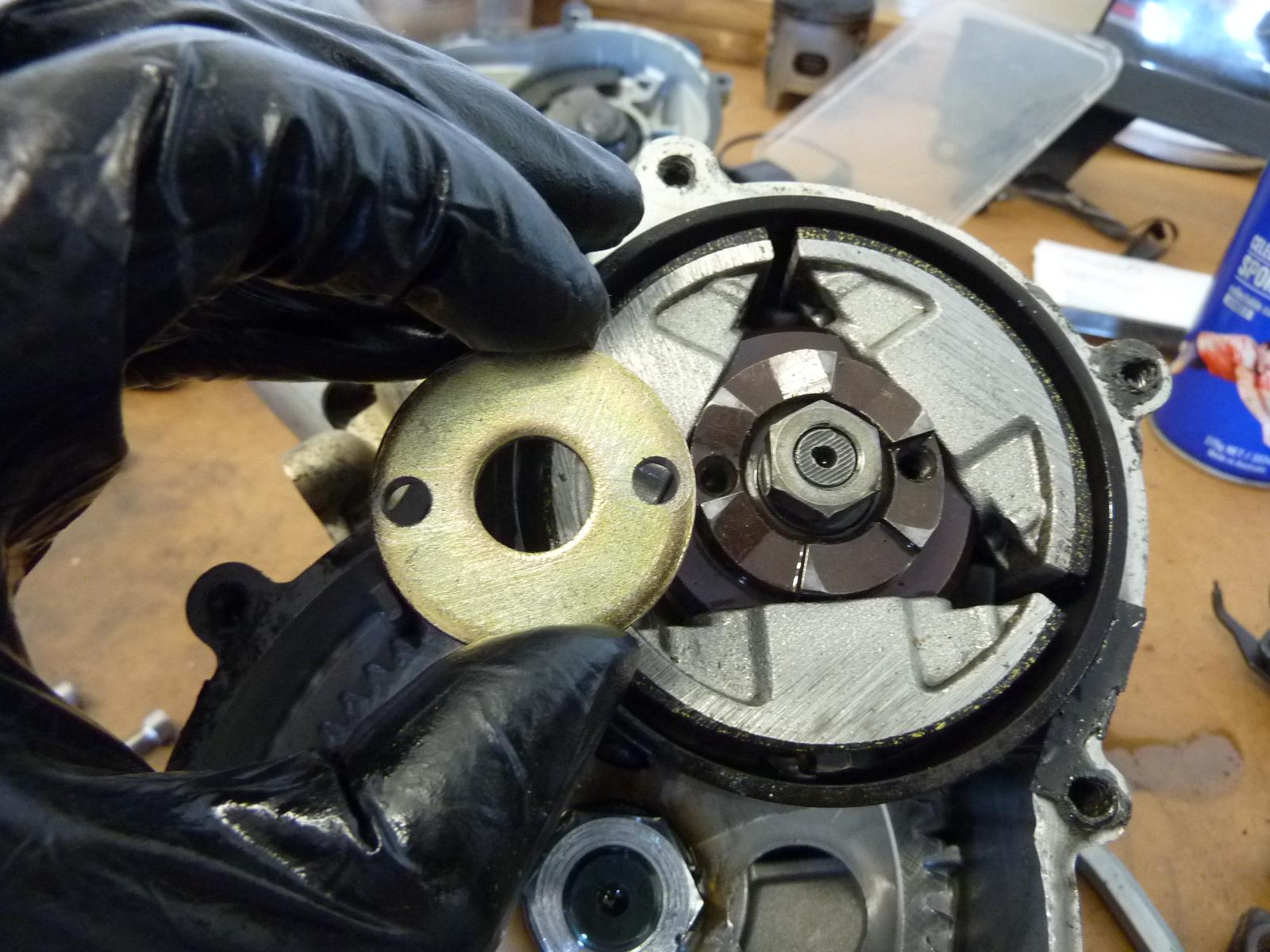 biketech7: ktm 50 mini adventure - the stripdown.