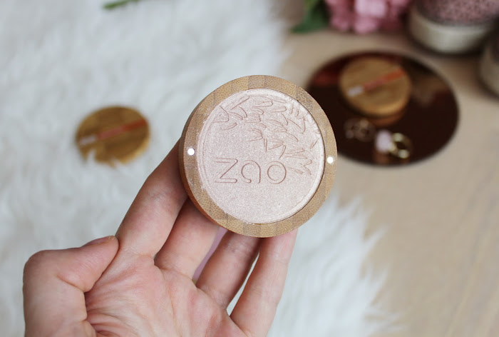 best organic highlighter ZAO makeup