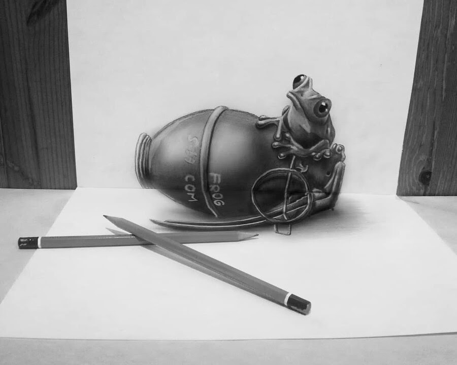 03-Frog-Grenade-Ramon-Bruin-Assortment-of-3D-Drawings-www-designstack-co
