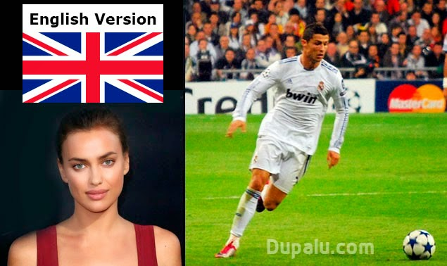 Cristiano Ronaldo and Irina Shayk, his girlfriend until January 2015
