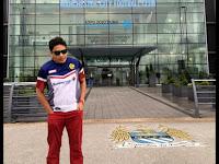Lompat-lompat di Stadium Etihad (Manchester City)