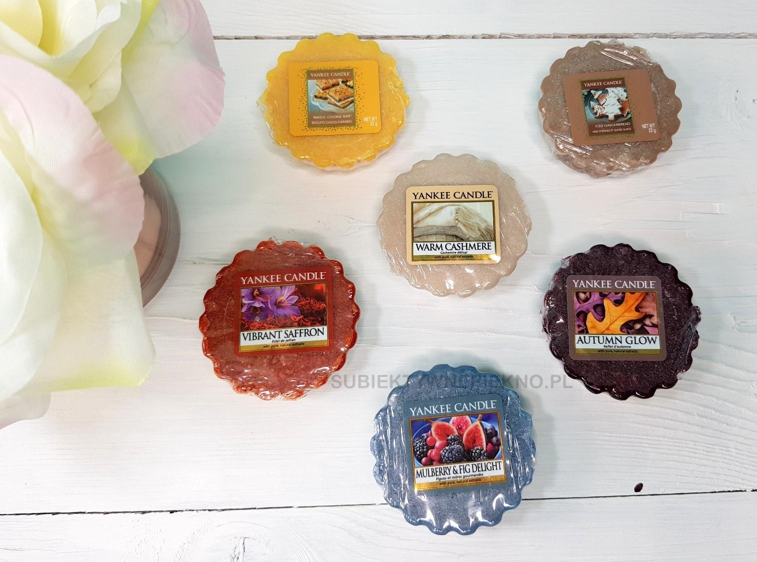Mulberry & Fig Delight Yankee Candle kolekcja Q3 2017 + ciasteczkowe nowości