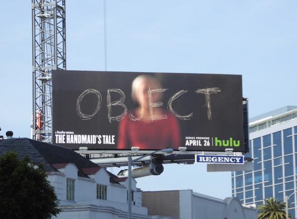 Handmaids Tale Object teaser billboard