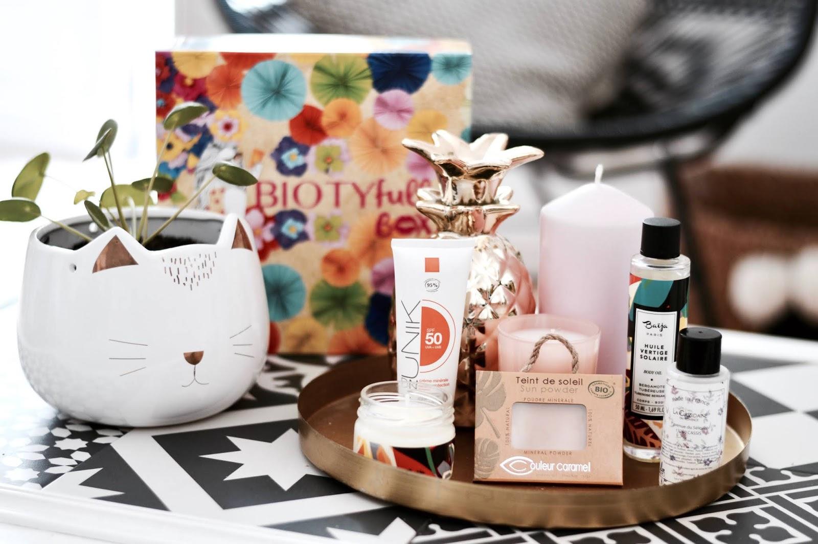 Biotyfull box : la meilleure box beauté bio