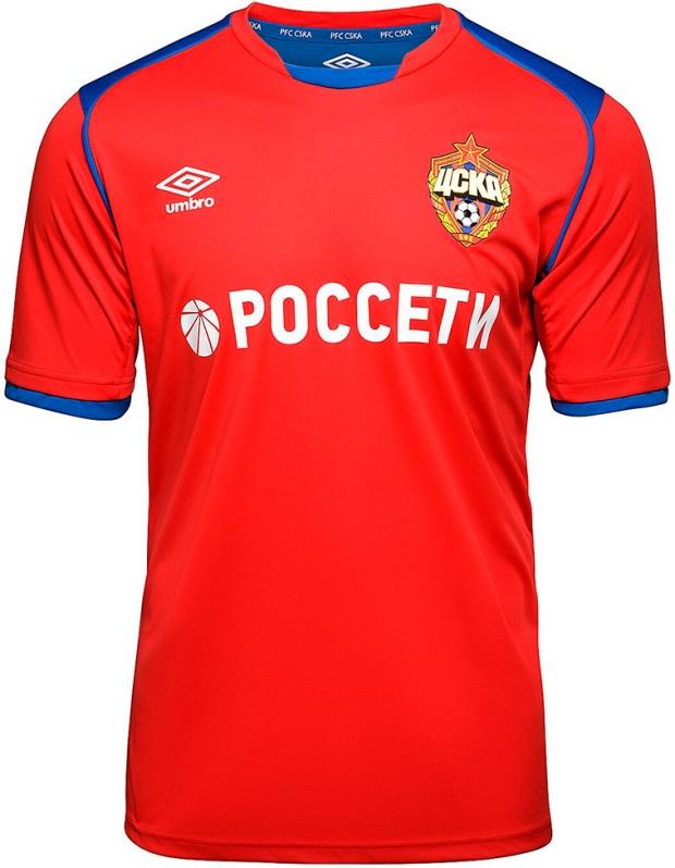 Umbro apresenta as novas camisas do CSKA Moscou - Show de Camisas 0caa30d09e324