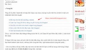 Chèn tiện ích bài viết liên quan vào giữa bài viết Blogspot
