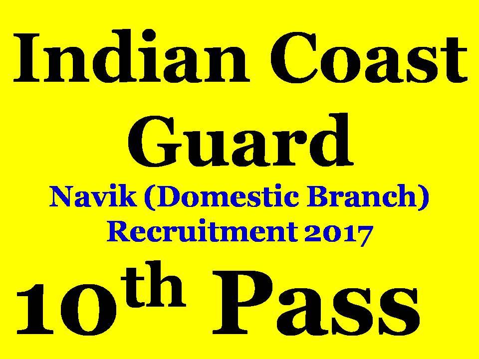 Sab Kuch Jaane Coast Guard Navik Domestic Branch 012018 Batch Cook