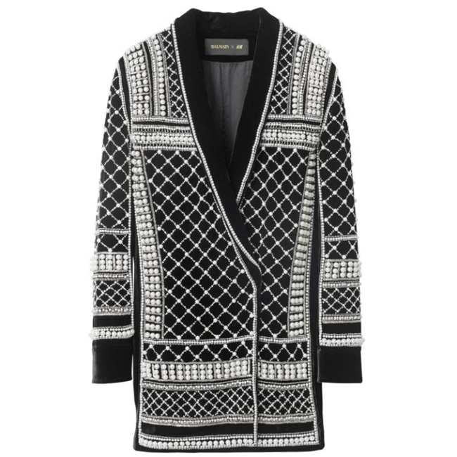 Balmain v.s Balmain x H&M 2015 Fall Collection
