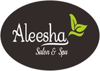 LOGO Aleesha Salon & Spa
