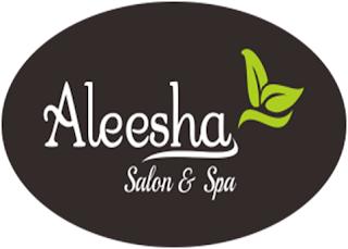 LOGO Aleesha Salon & Spa