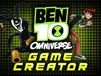 Ben 10 omniverse criador de jogos