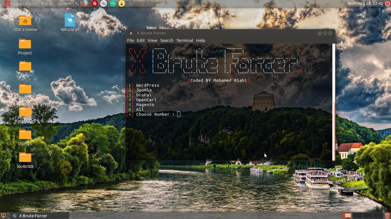 XBruteForcer - CMS Brute Force Tool (WP, Joomla, DruPal, OpenCart