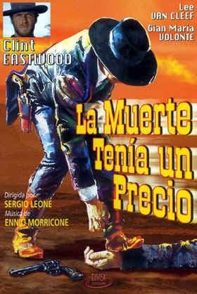 Cartel español de la película La muerte tenía un precio