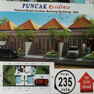 Rumah Indent Puncak Residence Celukan Bawang Buleleng