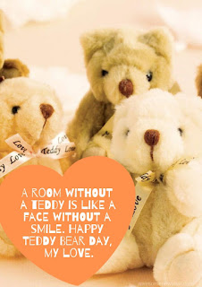 Happy Teddy day Whatsapp Status