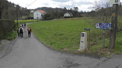 Camino a Fisterra: Santiago - Negreira