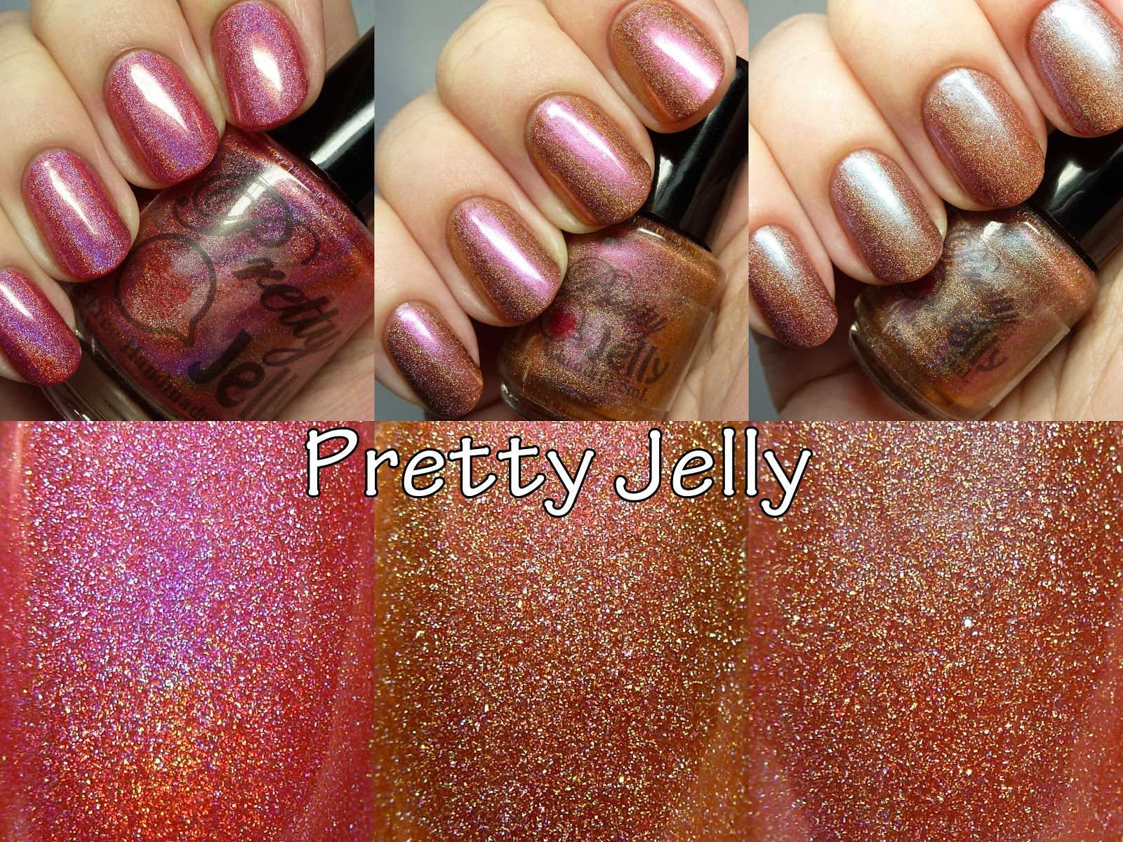 The Polished Hippy: Pretty Jelly Nail Polish swatches