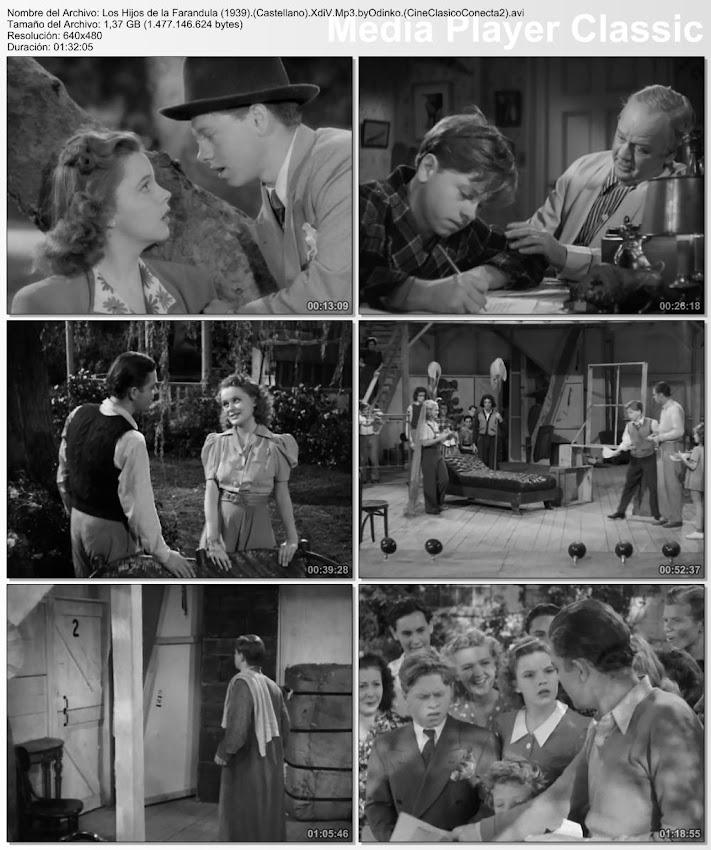 Capturas: Los hijos de la farándula | 1939 | Babes in Arms
