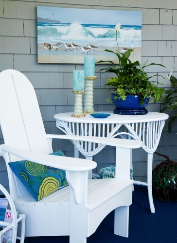 summer beach porch