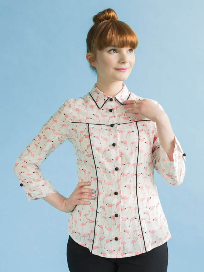 Rosa shirt sewing pattern - Tilly and the Buttons