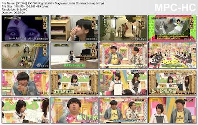 150726 Nogizaka46 – Nogizaka Under Construction ep14
