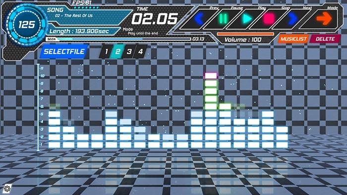 EQZ MusicPlayer Wallpaper Engine