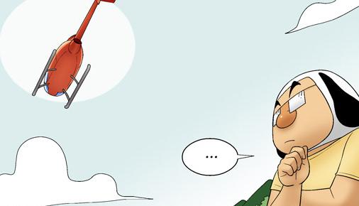 Kim Chi & Củ Cải (bộ mới) phần 142: Trực thăng