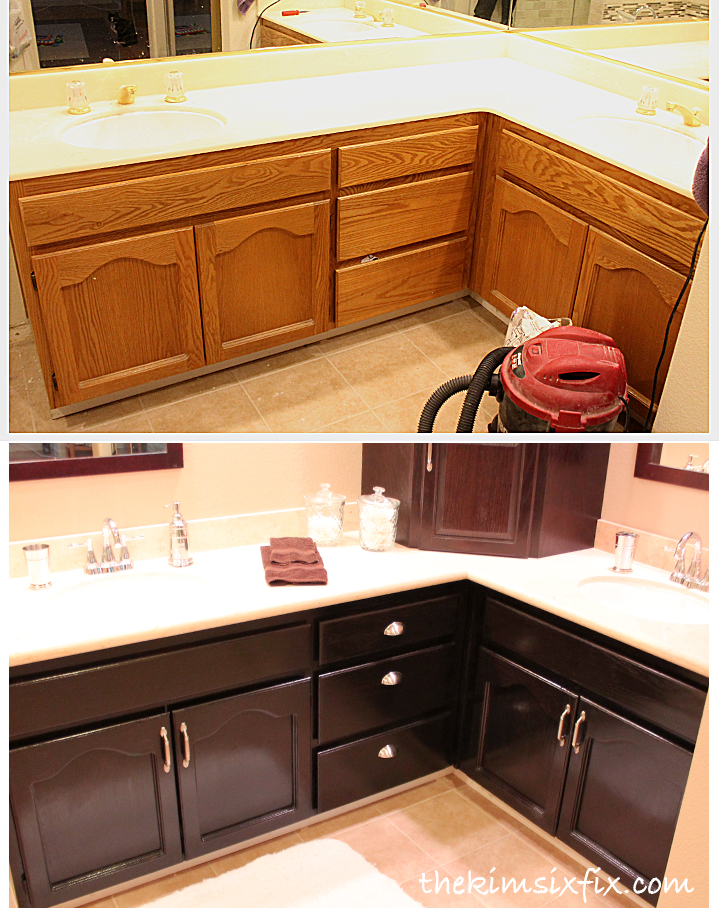 stained oak cabinets before and after that is a lot of for your buck 700