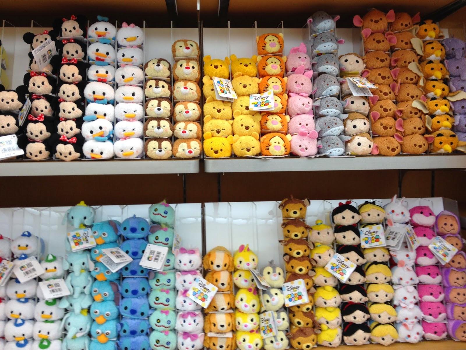 日韓美香港代購日誌: 日本代購 disney store (Tsum Tsum篇)