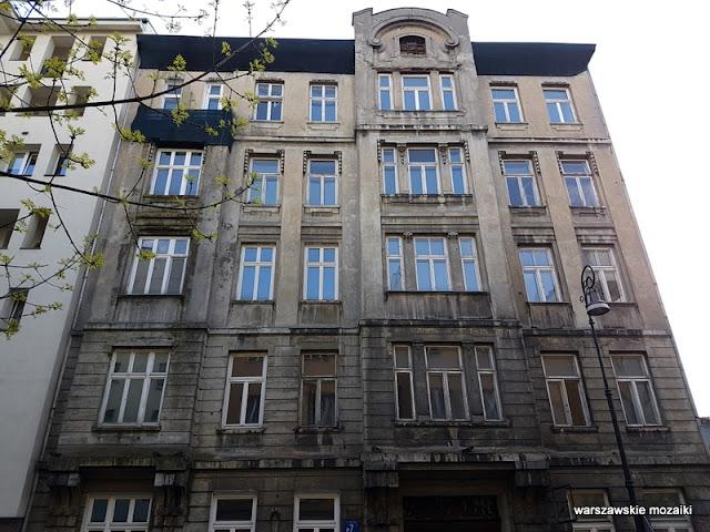 Warszawa Warsaw kamienica Śródmieście architektura