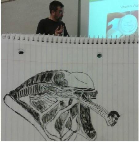 un-etudiant-dessine-son-prof-durant-les-cours-4 un étudiant dessine son professeur pendant les cours quand il s'ennuie