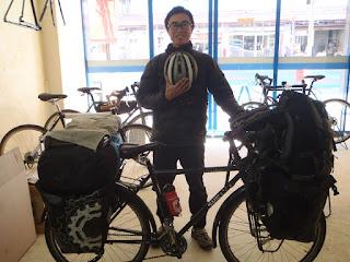 自転車ユーラシア大陸横断