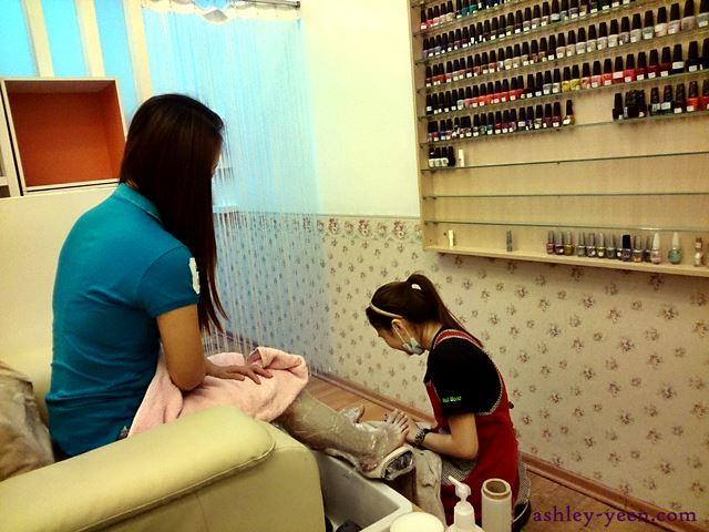 Review Nail Pampering Moments At Nail World Queensbay Mall Penang Ashley Yeen Beauty And Lifestyle