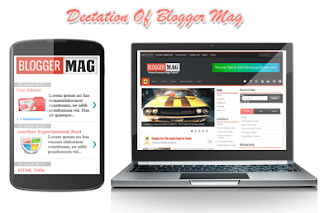 Blogger Mag Blogger Template