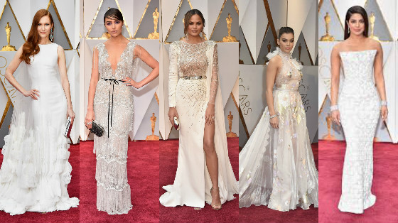 vestidos do oscar 2017
