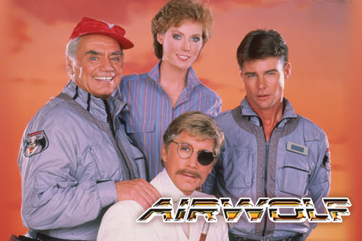 Airwolf TV cast