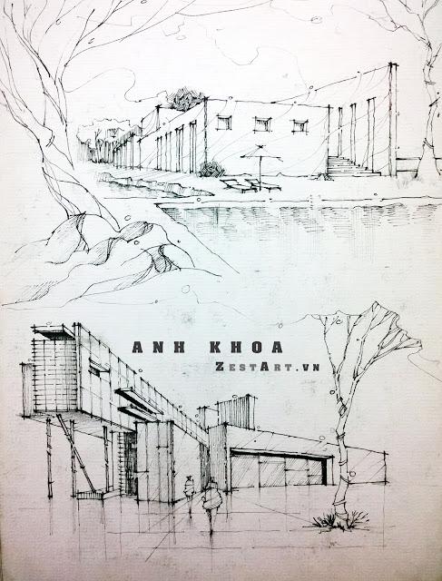 diễn họa kiến trúc