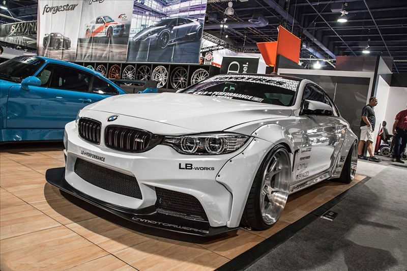 Aerodynamic body kit Liberty Walk - LB Performance BMW F82 M4