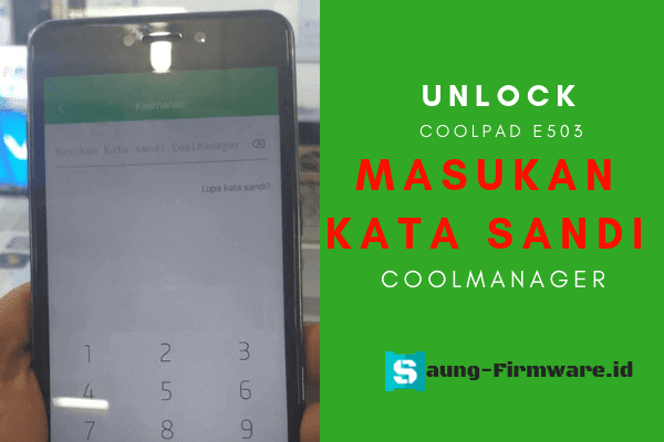 Cara Reset Password Coolmanager Coolpad Fancy 3 E503