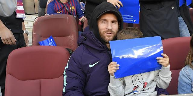 Kembali Berlatih, Messi Comeback Lawan Inter Milan?