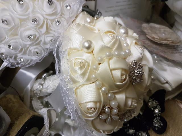 wedding bouquet, The Cameliia