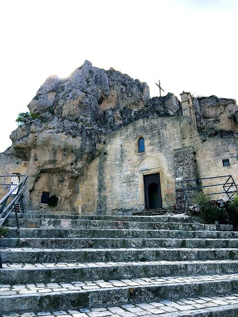 Rupestrian-church-Matera