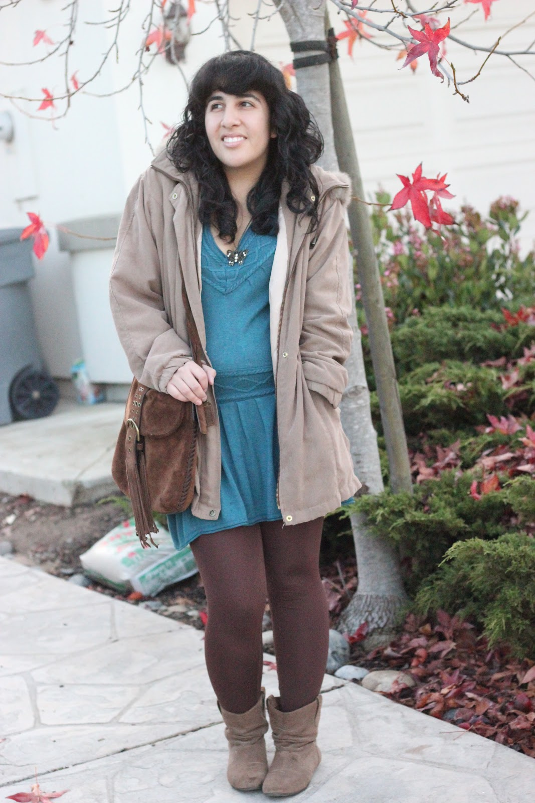 Fall Neutral Bohemien Outfit
